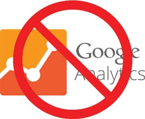 warning google analytics
